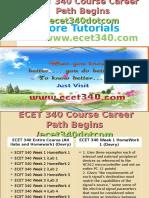 ECET 340 Course Career Path Begins Ecet340dotcom