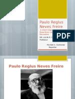 Report - Paulo Reglus Neves Freire