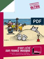 Dossier de presse - Eté France Musique 2016