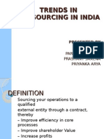 Outsourcing by Prashant