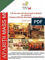 Programul Atelierul Micilor Bucatari - Editiile Bucuresti & Buzau 2016