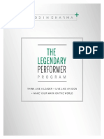 The Legendary Performer Playbook
