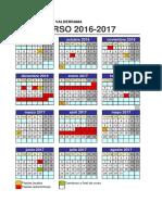 Calendario 2016_2017 - CEIP José Ortega Valderrama de Pradejón