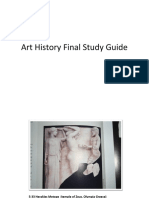 Art History Final Study Guide