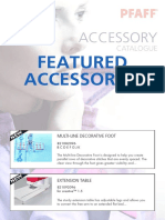 PFAFF Accessory Catalogue