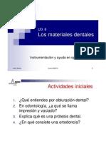 UD 6 Materiales dentales