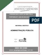 Admninistração Pública - Aula 1