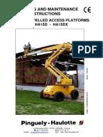 Haulotte HA15DX Operating Instructions Maintenance.pdf