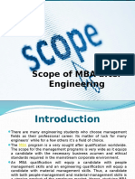 Scope of MBA After Engineering