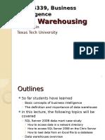 Business Intelligence Data Warehousing