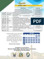 Agenda Região Publicação - Julho 2016