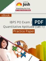 IBPS PO Exam 2014 - Quantitative Aptitude Practice Paper [Set-1] ~Stark