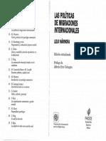 Mármora - Las Políticas de Migraciones Internacionales