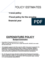 Fiscal Policy by Prashant