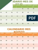 Calendar Ioshh