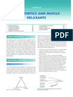 Anaesthetics and Muscle Relaxants