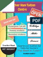 Teacher Hani Tuition Centre (1)