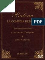 Balzac, Honore de - [La Comedia Humana (Editorial Lorenzana) 16] Los Secretos de La Princesa de Cadignan y Otras Historias [26685] (r1.1)