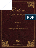 Balzac, Honore de - [La Comedia Humana (Editorial Lorenzana) 29] Serafita & Fisiologia Del Matrimonio [29618] (r1.1)