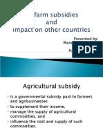 EU Farm Subsidies by Prashant