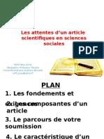 Prof. Brou Emile-Séminaire doctoral_Redaction d'un article-1er-06-16.pptx