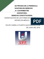 Forma de Estado y Gobierno Mexi