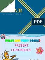 Present Continuous 01