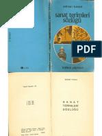 Adnan Turani - Sanat Terimleri Sözlüğü