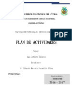 For-uvs-01 Plan de Actividades v2-2016-Servicios Comunitario