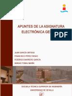Electrónica Apuntes 2013-14