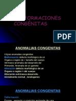 MALFORMACIONES CONGÉNITAS