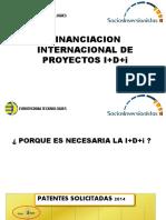 FINANCIACION INTERNACIONAL DE PROYECTOS I+D+i HUACHO-- Ing.Orlando