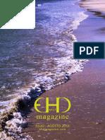 EHD magazine NÚMERO 17 - JULIO Y AGOSTO 2016 (pliegos)