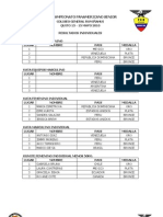 Result a Dos Oficiales Xxiv to Pan America No Senior