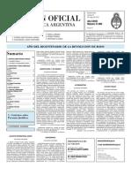 Boletin Oficial 21-05-10 - Segunda Seccion