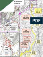 La carte des fermetures de routes pour la 6e étape du Tour de France entre Arpajon et Montauban