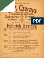 Czerny Germer 50 Estudios Elementales PARTE I