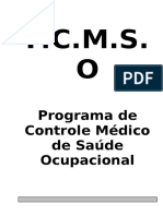 PCMSO Diálise