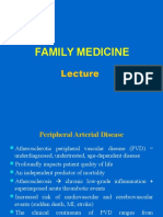 Family Medicine Lecture 9 Vascular