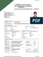 Application Form NITRR