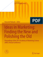 (Developments in Marketing Science_ Proceedings of the Academy of Marketing Science) Krzysztof Kubacki (Eds.)-Ideas in Marketing_ Finding the New and Polishing the Old_ Proceedings of the 2013 Academy