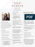 Nikki Namdar Resume