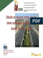 Diseño de enlaces entre vias de gran capacidad