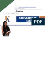 Universidad Del Atlántico - Calendario de Eventos - 2016-06-14