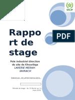 Rapport de Stage ( Fatima Zahra )
