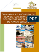 GUÍA PARA LA ELABORACIÓN DE PLAN DE MANEJO PARA LOS GENERADORES DE RME.docx