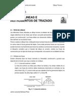 03. Lineas e Instrumentos de Trazado