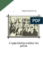 Solange D S Alves - A-Igreja-Católica-na-Bahia - fé e política.pdf
