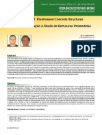 Flexural analysis of prestressed concrete structures