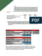 Trabajo Practico de Administracion de Costos Grupo69 Roberto Cruzado Haro